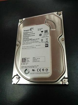 Disco duro 500gb 3.5 Sata