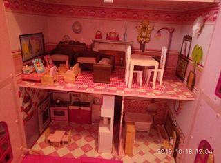 casa de muñecas 3 plantas