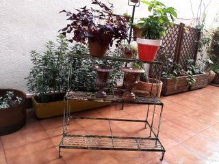 Estante de jardín francés