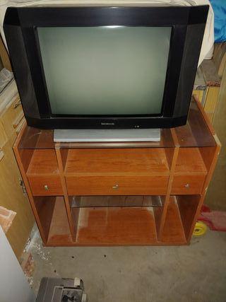 mueble televisión + tv