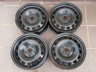 """4 Llantas acero 16"""" Golf VII / Audi A3"""