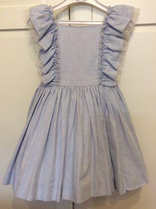 Lapeppa vestido Oxford T-5