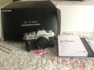 Fujifilm X-T20 en Garantía
