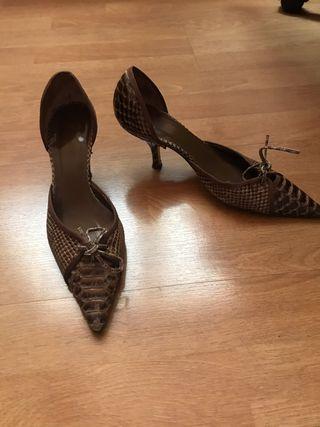 Zapatos cocodrilo Zara