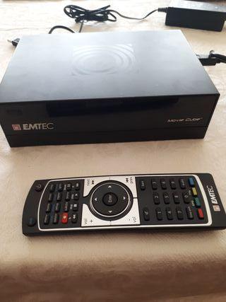 Disco duro multimedia emtec movie cube Hd 1Tera