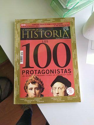 la aventura de la historia N 100