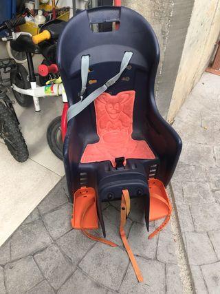 Silla de bebé para bicicleta