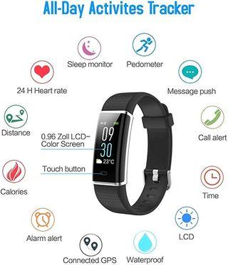 Smartband a estrenar con pulsometro
