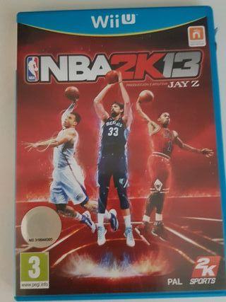 juego NBA Wii U