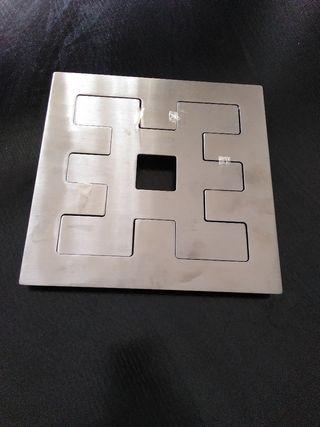 plato de metal