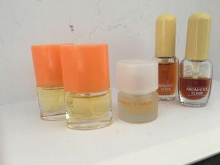 Miniaturas originales de perfumes