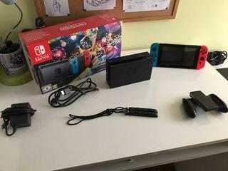 Nintendo switch (MarioKart Deluxe 8)