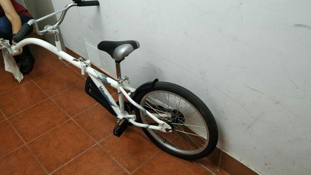 Tándem bici niño