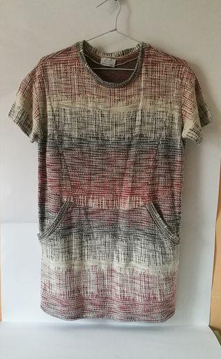 Vestido de tejido Zara Trafaluc