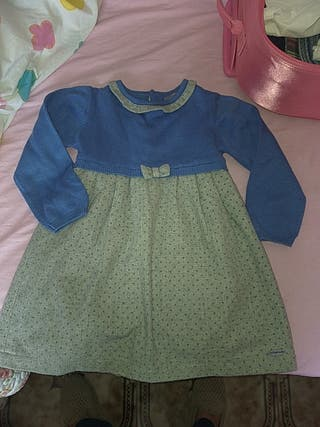 vestido niña 3 años tutto piccolo