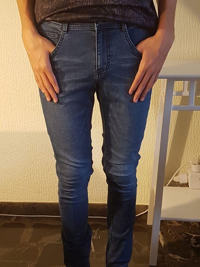 Pantalón vaquero, hombre , azul, ESPRIT