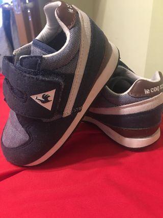 Zapatillas de niño número 23
