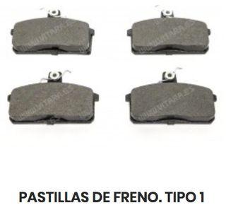 PASTILLAS FRENO SUZUKI VITARA. TODOS LOS MODELOS