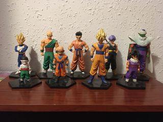 Colección de figuras de Dragon Ball Z.