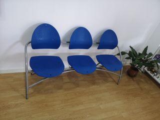 sillas sala de espera.