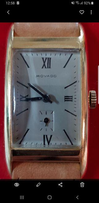 reloj vintage Movado