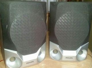 Dos altavoces Philips