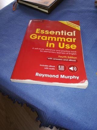 libro de inglés essential grammar in use