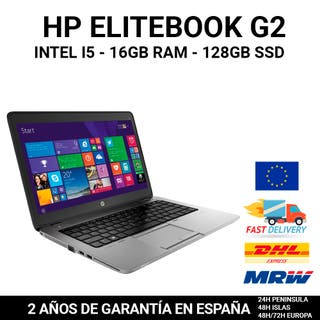 PORTÁTIL HP ELITEBOOK 840 G2 I5 16GB RAM 128GB SSD