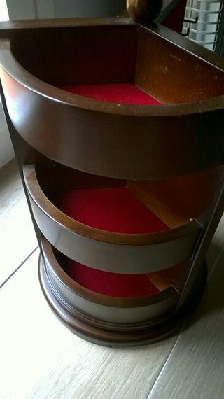Joyero madera giratorio