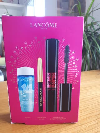 Lancome Kit/Mascara pestañas/Desmaquillante/eyelin