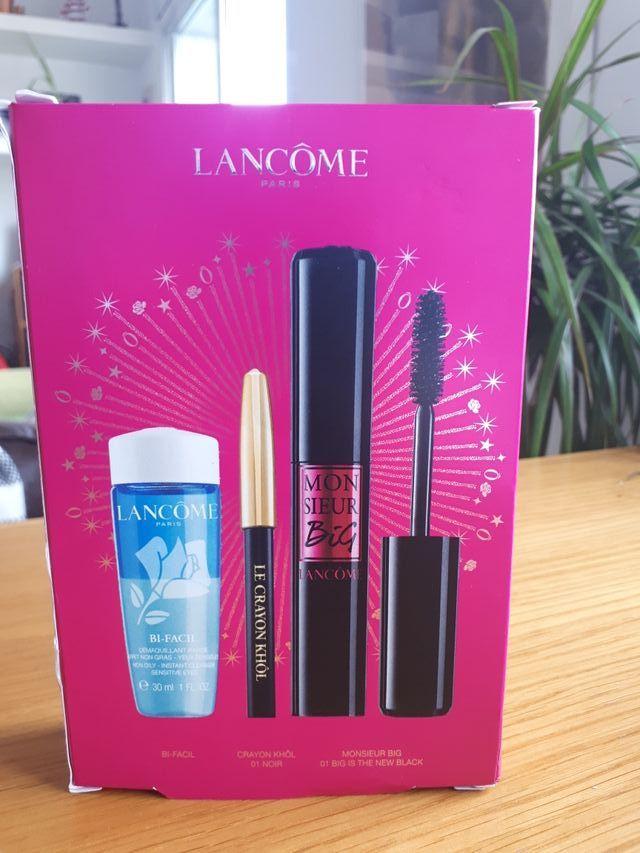 Lancome Kit/Mascara pestañas/Desmaquillante/eyelin