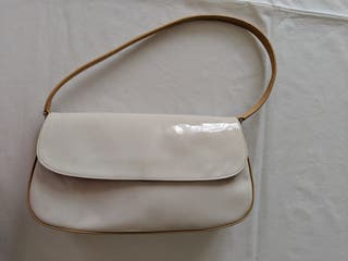 Bolso de mano blanco