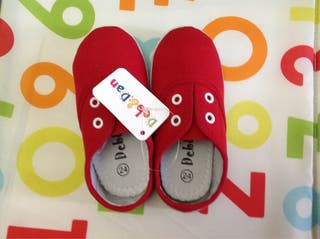 Zapatillas loneta N 24