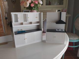 mueble cocina para casa muñecas