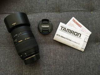 TAMRON 70-300 4-5.6 Di LD MACRO (montura Pentax)