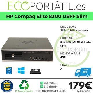 HP Compaq Elite 8300 USFF Ultra-Slim Desktop