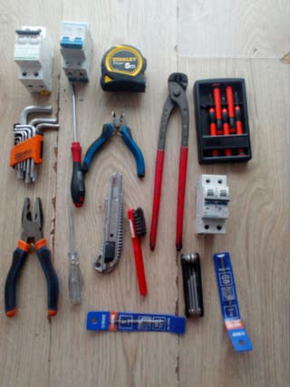 herramientas + bolsa