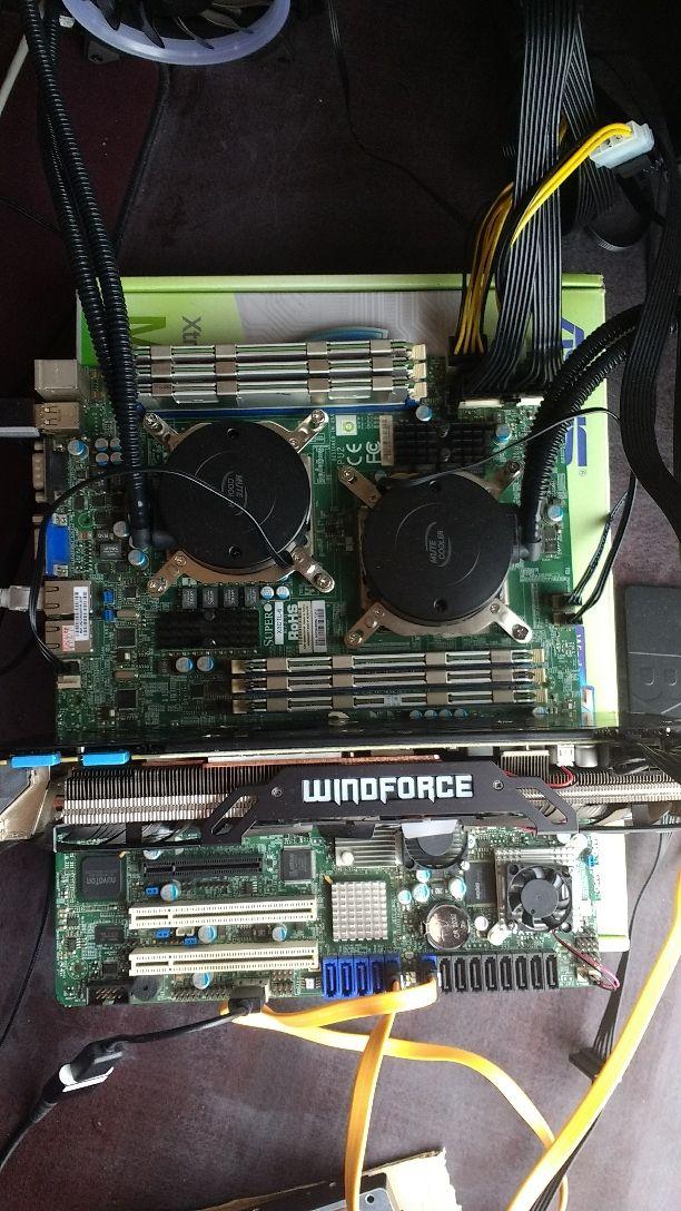 LGA 1366 X8DTL-6 X58 xeon x5670 x2