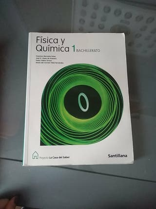 libro de física y química.