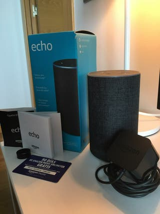 Vendo Amazon Echo (2a generación) con Alexa