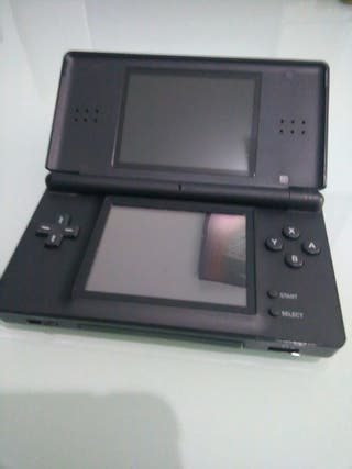 Nintendo DS Lite Negra con extras