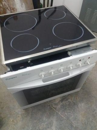 1 lavavajillas ,4hornos con placas vitrocerámica t