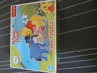 Puzzle de suelo Winnie de Pooh marca Disney