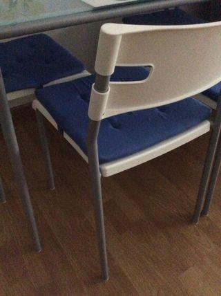 Juego completo sillas mesa