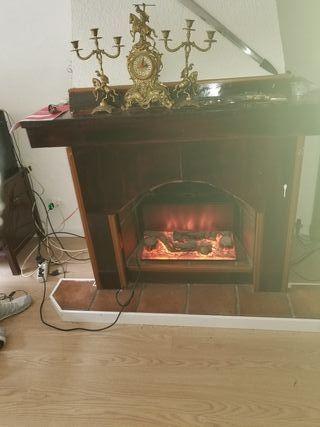 imitación fuego chimeneas,electrico