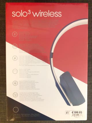 Beats Solo 3 wireless cascos