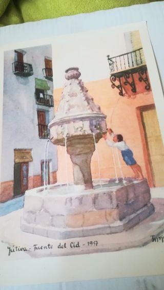 Jativa, Fuente del Cid