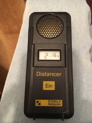 Medidor distancias ultrasonidos vintage