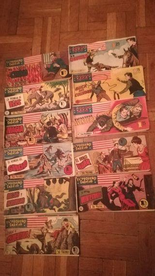 11 antiguos comic, El pequeño Sheriff