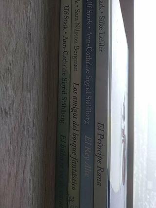 Lote 4 libros infantiles ikea